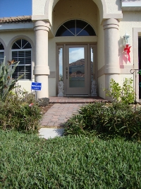 Outside dual reflective residential and commercial privacy film from Suntamers Window Tinting in Southwest Florida