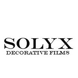 Solyx Decorative Films Logo, a brand of decorative window film Suntamers Window Tinting offers clients