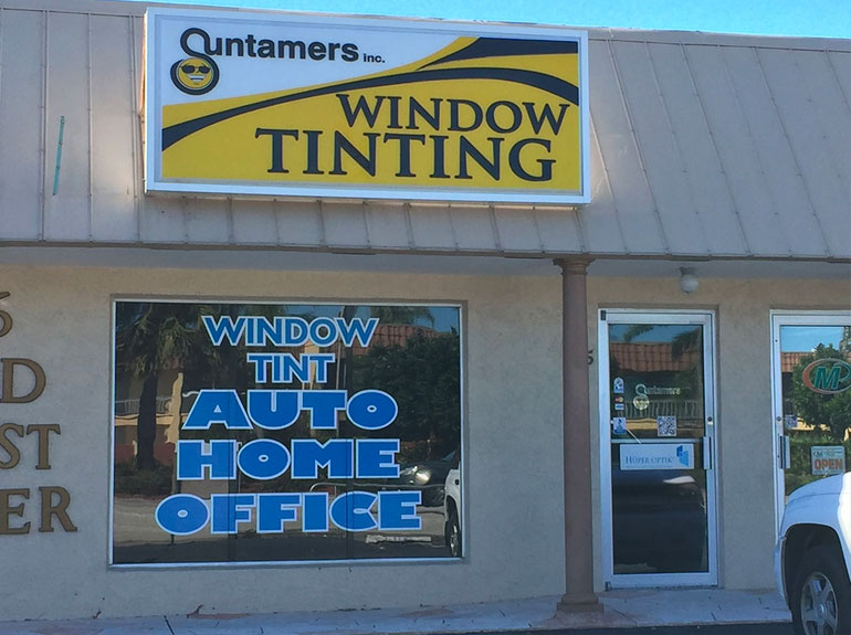 Suntamers Window Tinting Cape Coral Florida Location