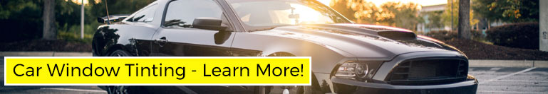 Click to learn more about Car Window Tinting from Suntamers