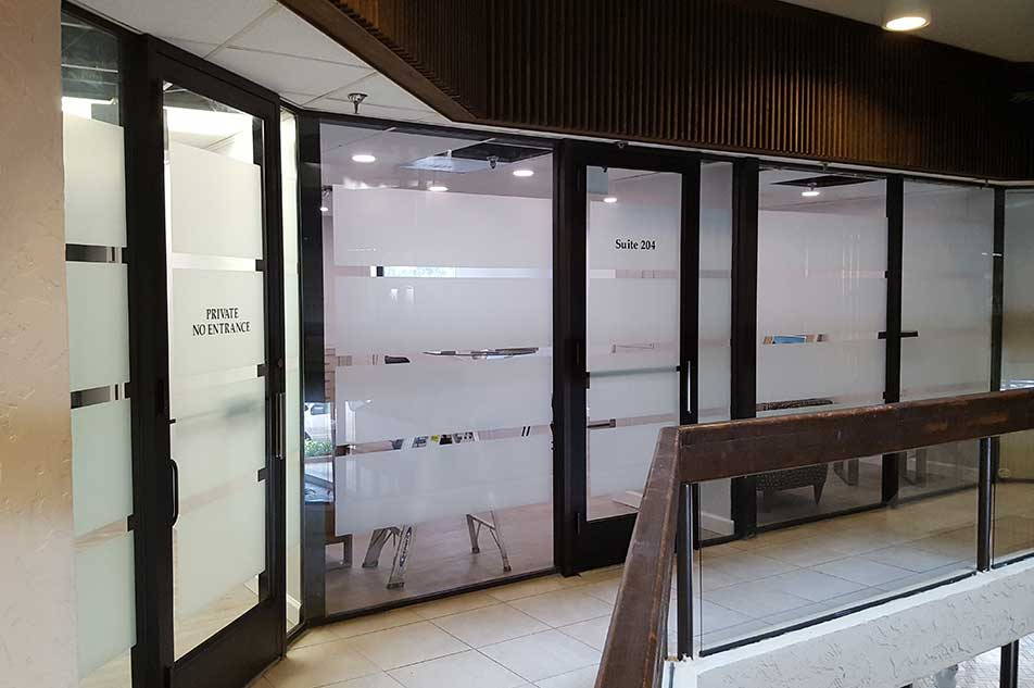 Commercial and Retail Non-Reflective Window Tinting for