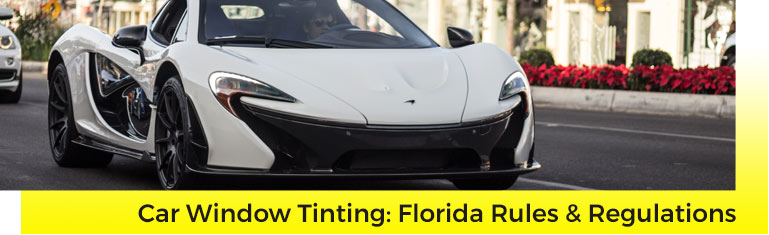 Florida Car Window Tinting Laws | Suntamers Florida Window Tinting Company