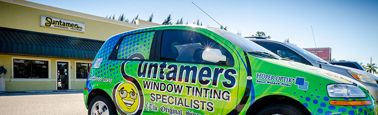 Professional Window Tinting for Turtle Code Compliance | Suntamers Southwest Florida