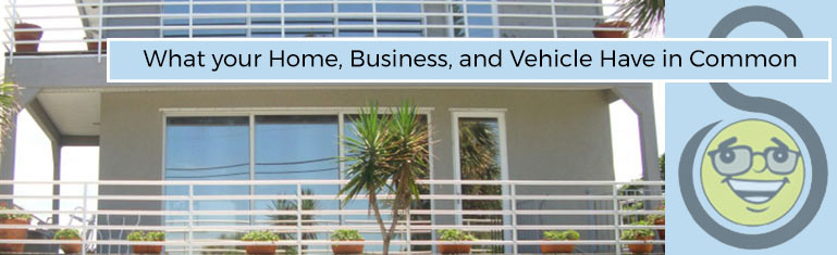 Image of Florida Home with Window Tinting Film: Do you know what your home, business, and vehicle all have in common? | Suntamers Window Tint Blog